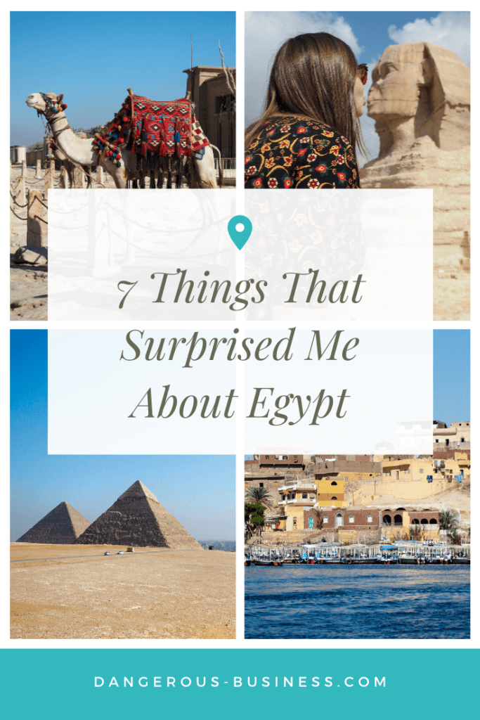 Things that surprised me about Egypt