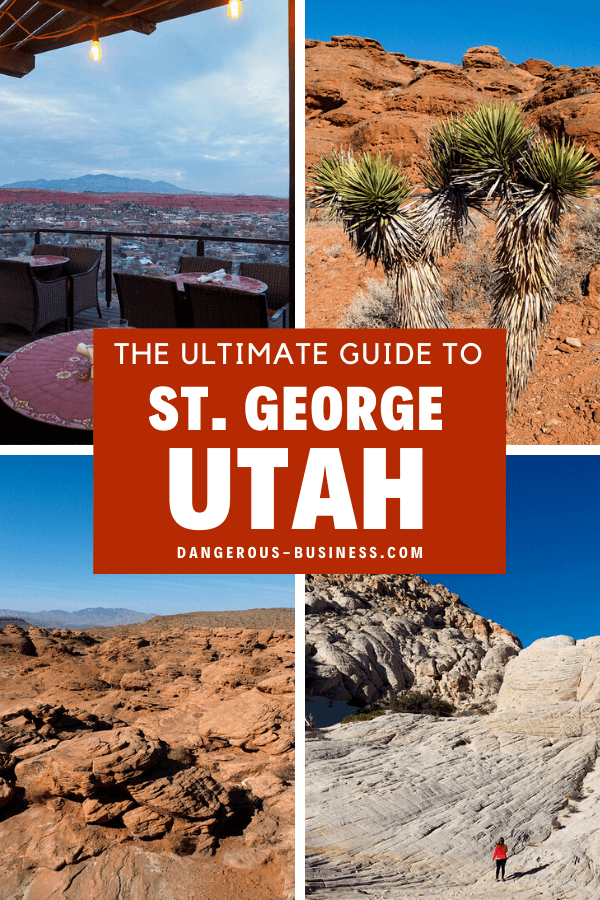 A guide to St. George, Utah