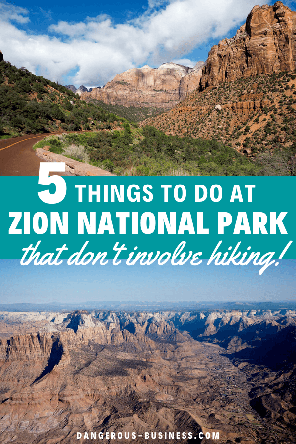 Things to do at Zion National Park that aren't hiking