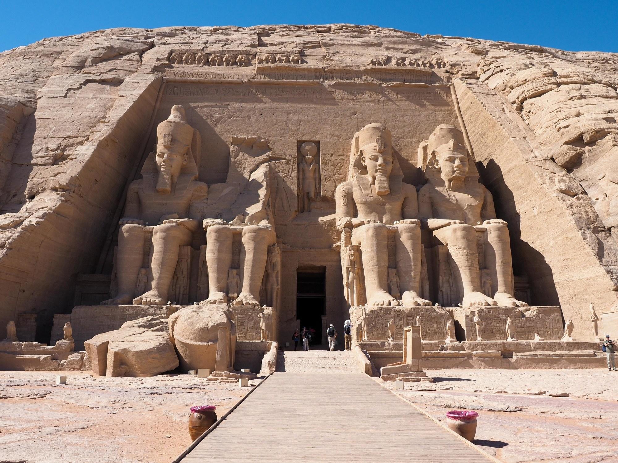 Abu Simbel temple in Egypt