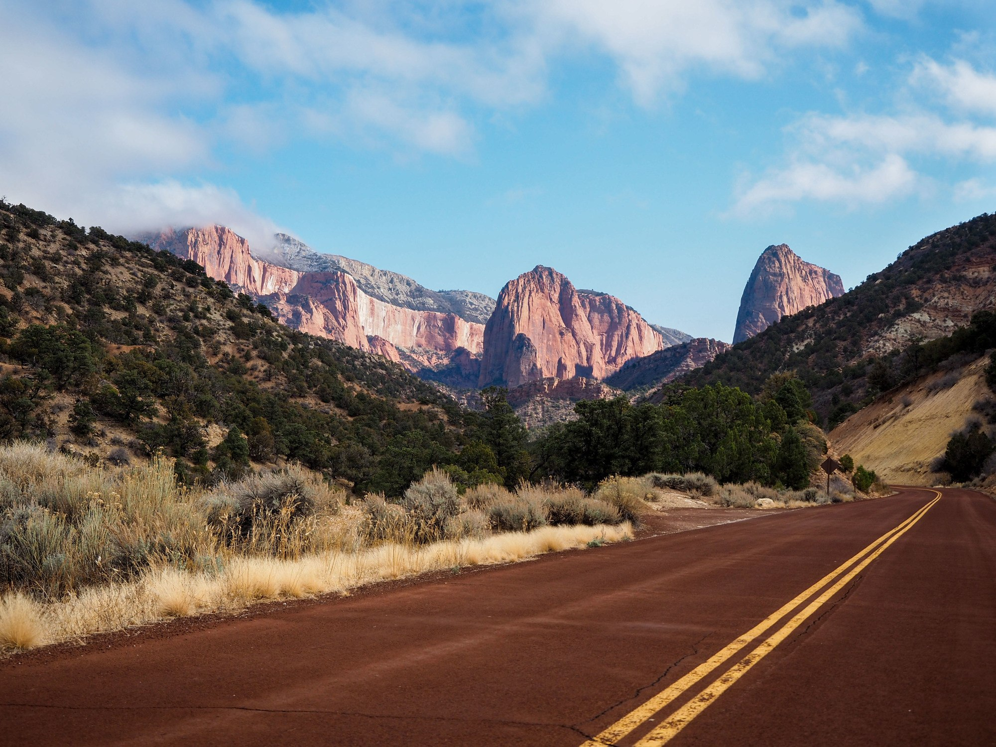Kolob Canyons in Zion National Park