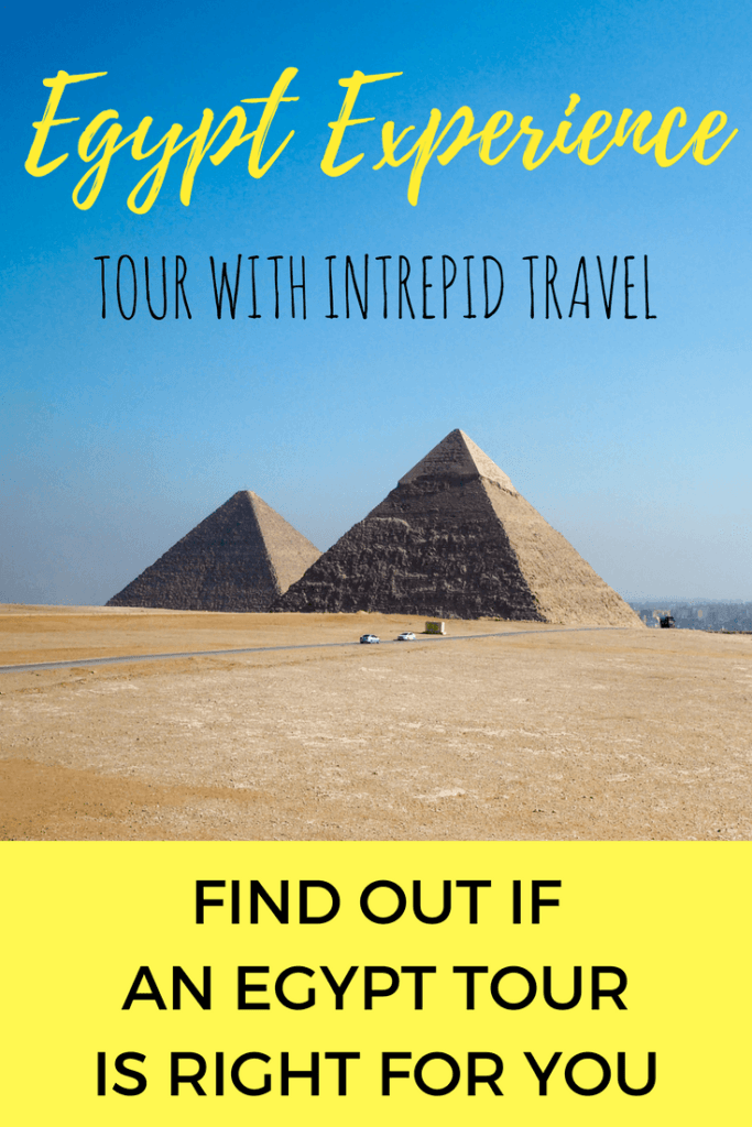 Traveling in Egypt safely on a tour with Intrepid Travel