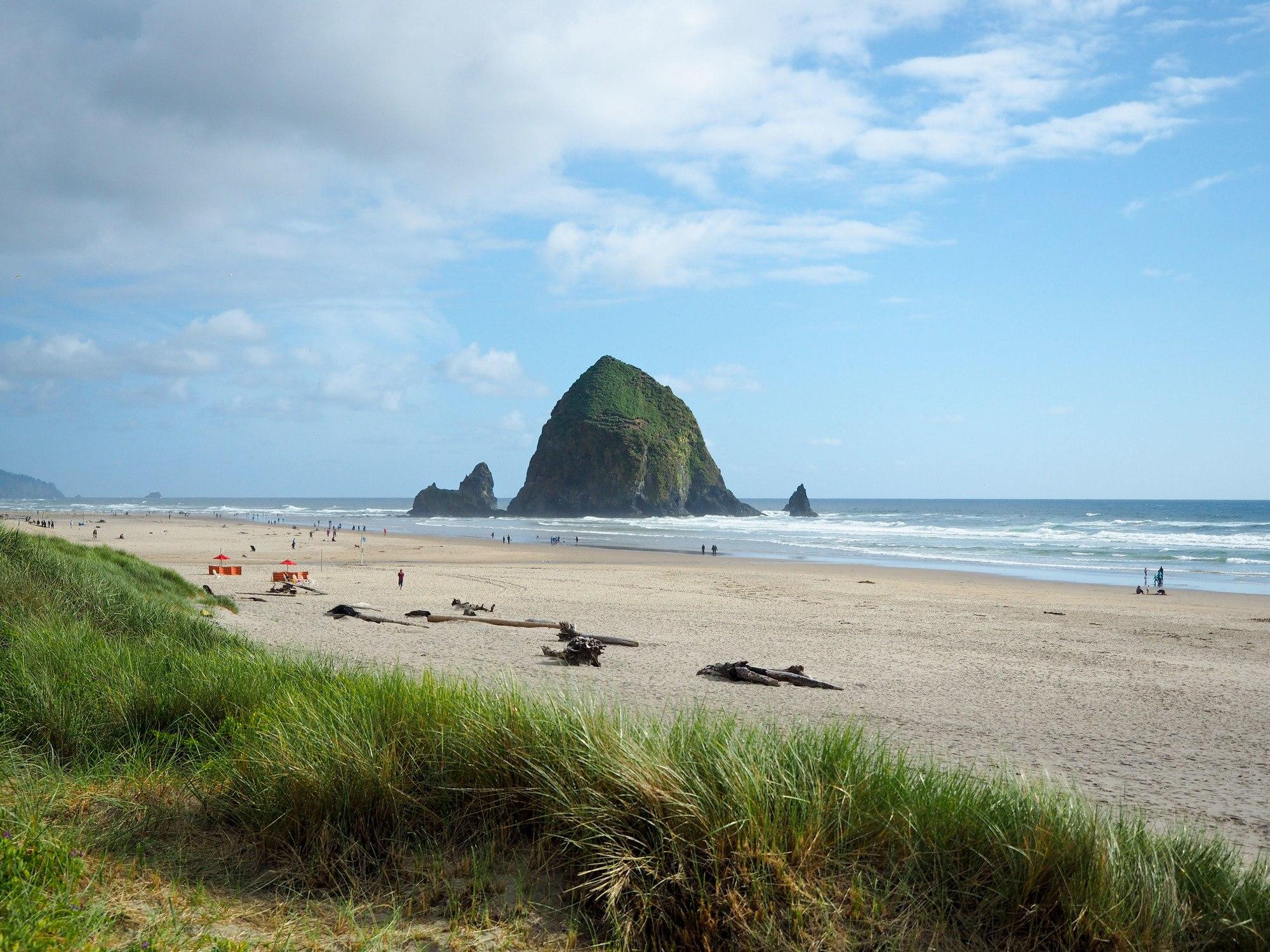 Cannon Beach on the Oregon Coast