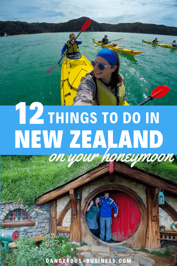Things to do on a New Zealand honeymoon