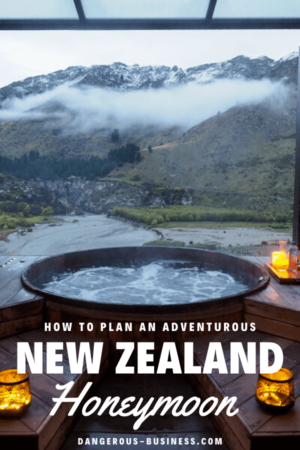 An adventurous honeymoon in New Zealand
