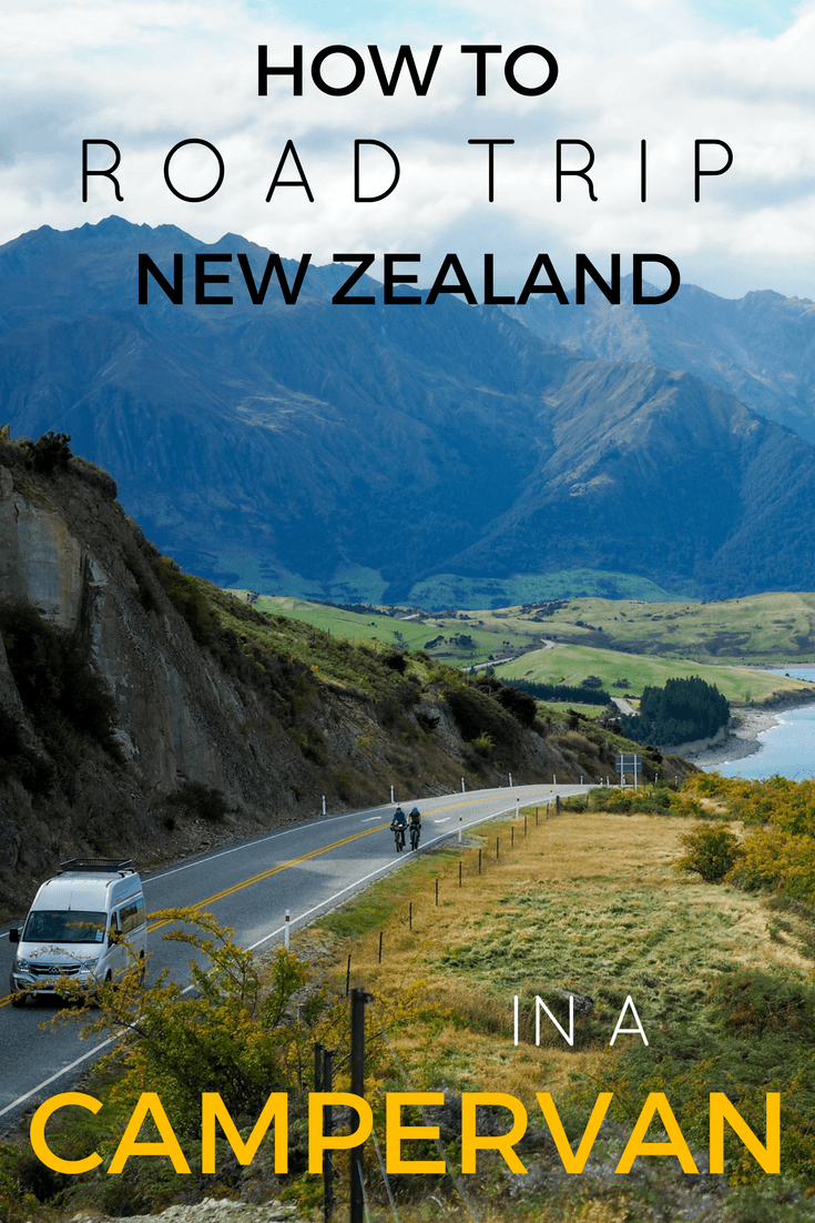 Planning a campervan road trip in New Zealand