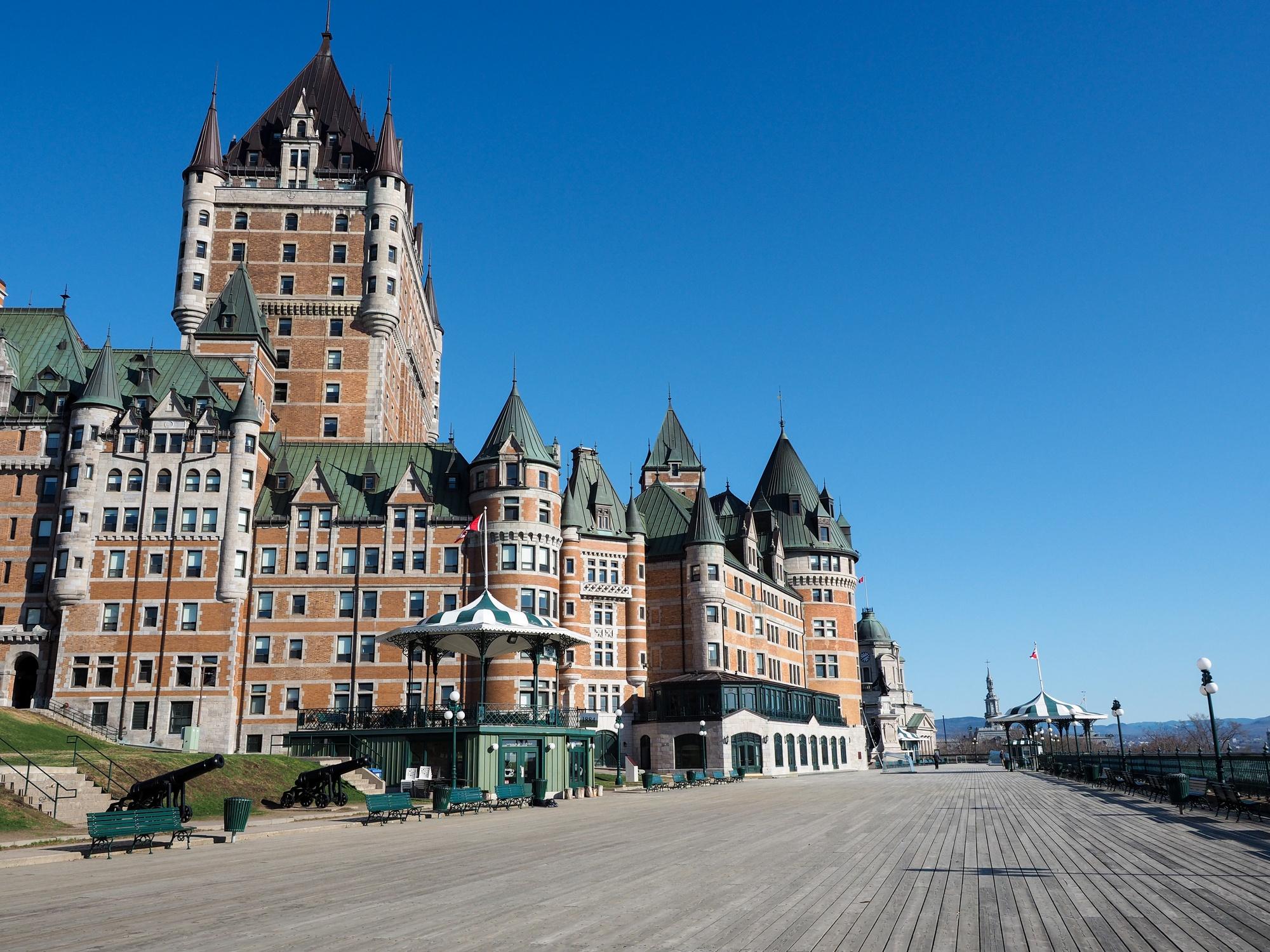 Fairmont Le Chateau Frontenac in Quebec City