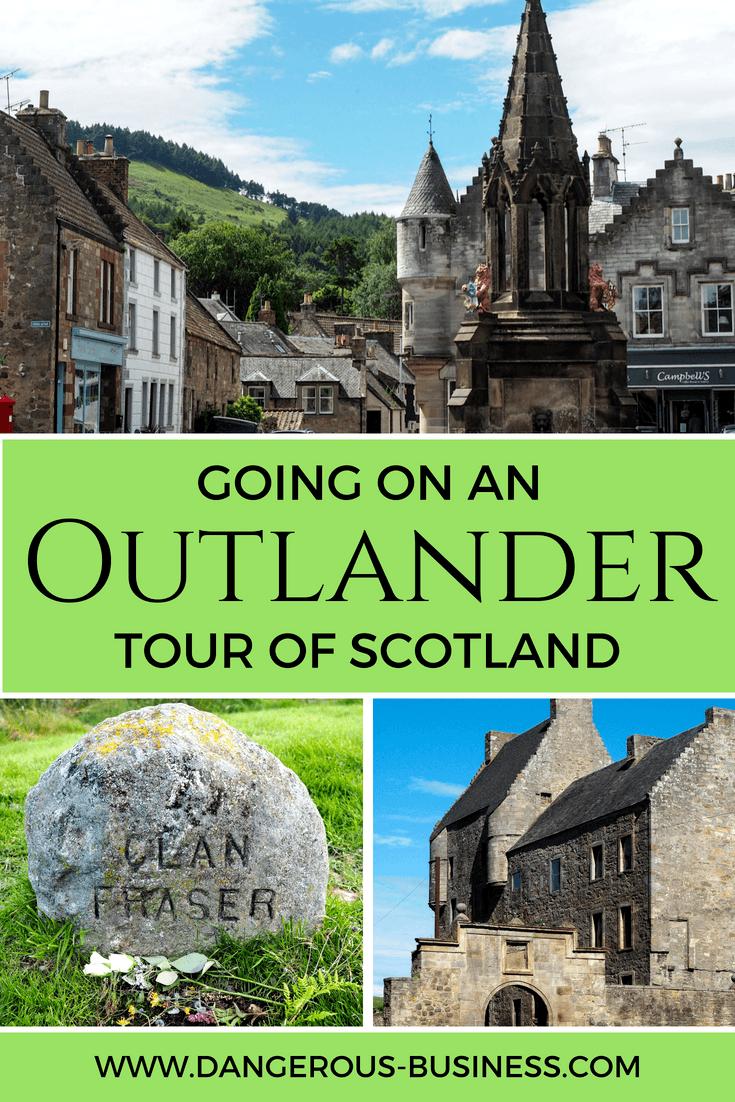 Going on an Outlander tour in Scotland