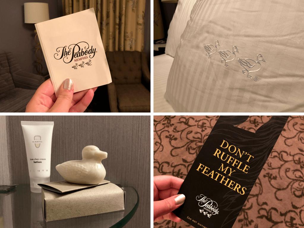Peabody Memphis duck details