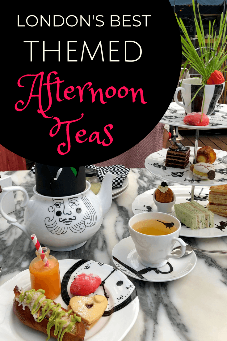 The Best Themed Afternoon Teas in London