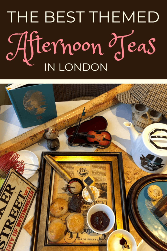 The Most Unique Themed Afternoon Teas in London