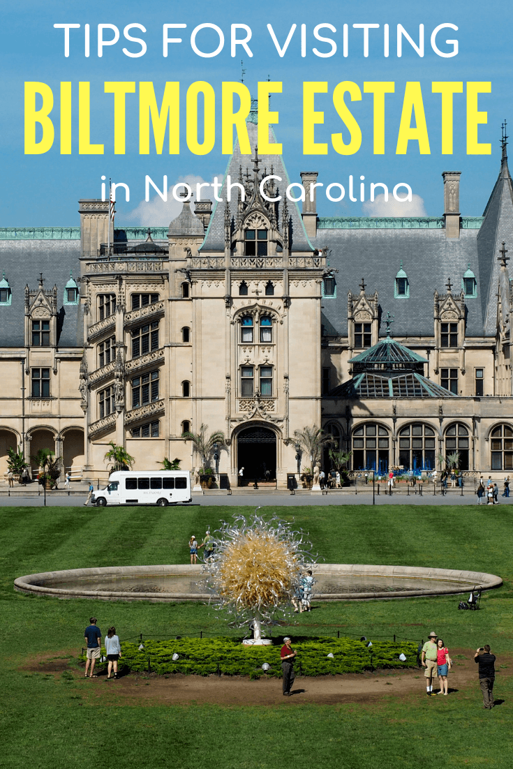 Tips for visiting the Biltmore Estate in North Carolina