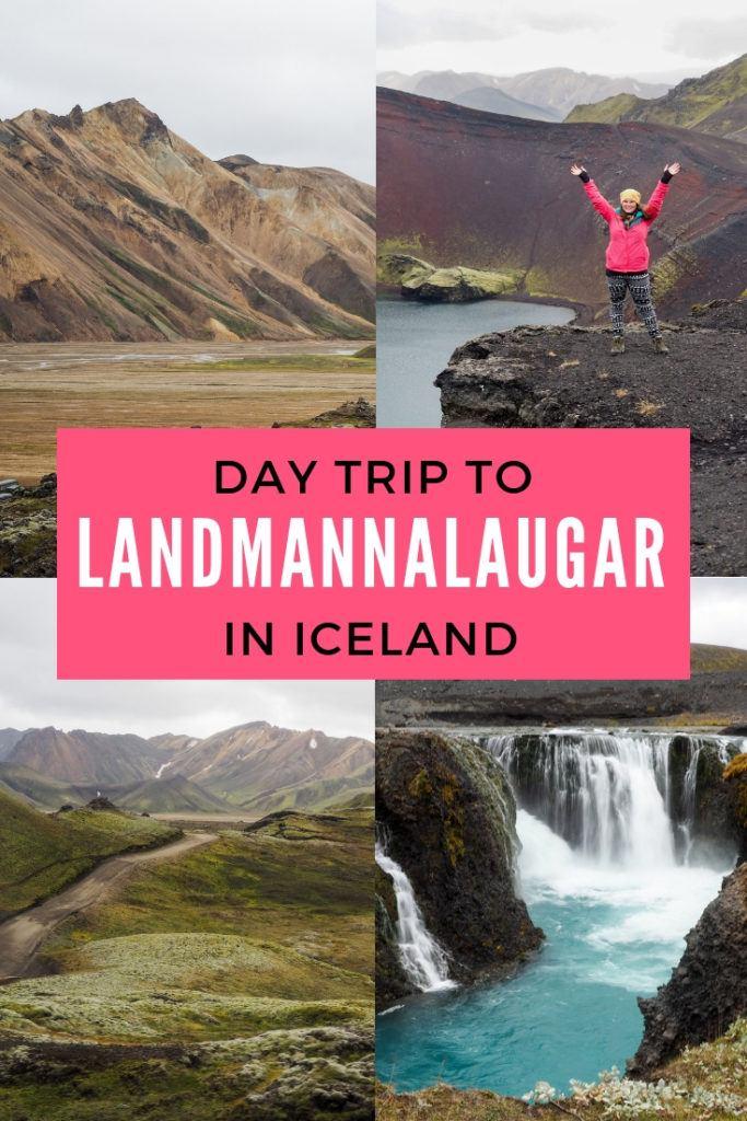 Day trip to Landmannalaugar in Iceland