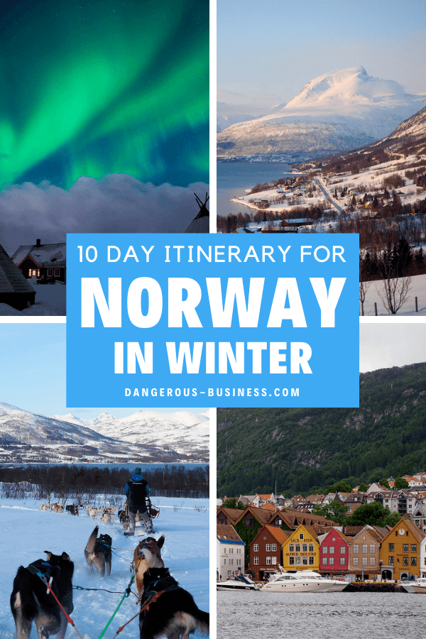 Itinerary for Norway in winter
