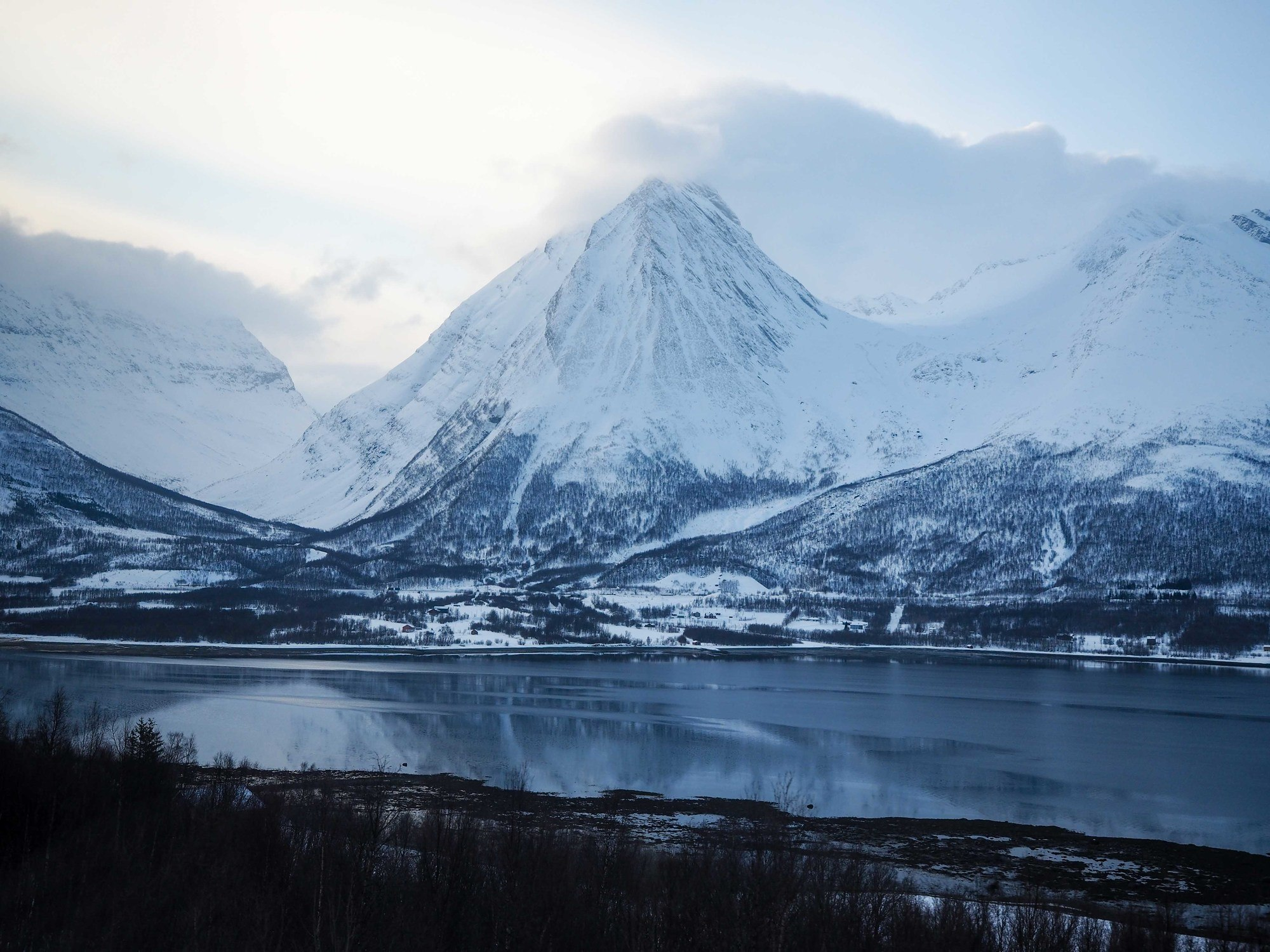 Northern Norway in winter