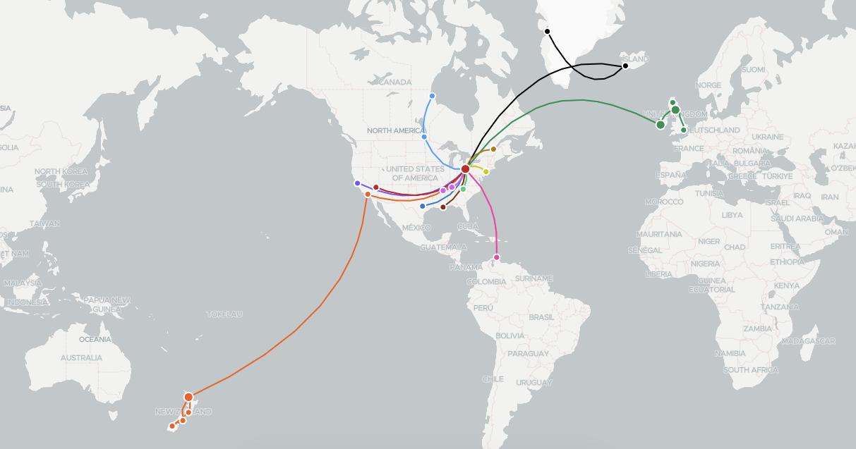 2018 travels