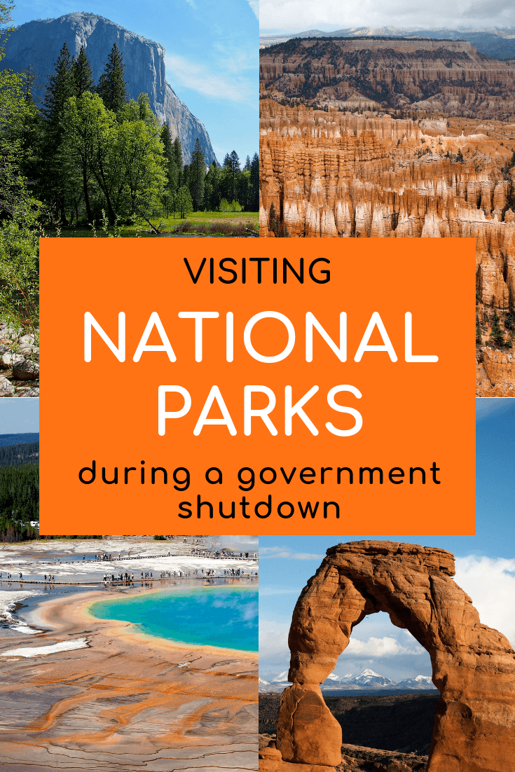Visiting national parks during a government shutdown