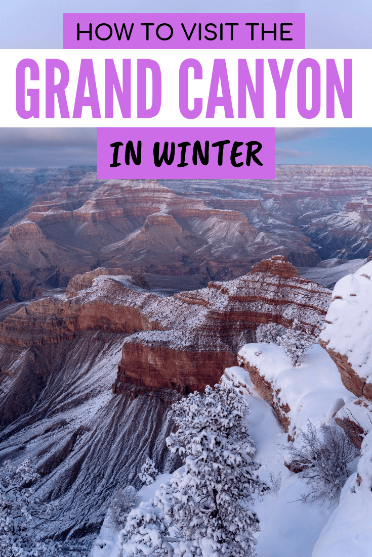 Tips for visiting the Grand Canyon in winter