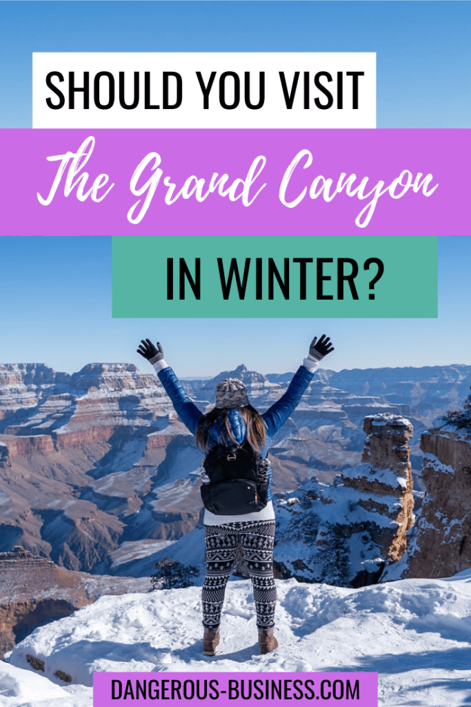 Can you visit the Grand Canyon in winter?
