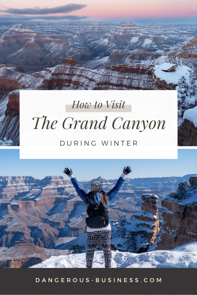 How to visit the Grand Canyon in winter