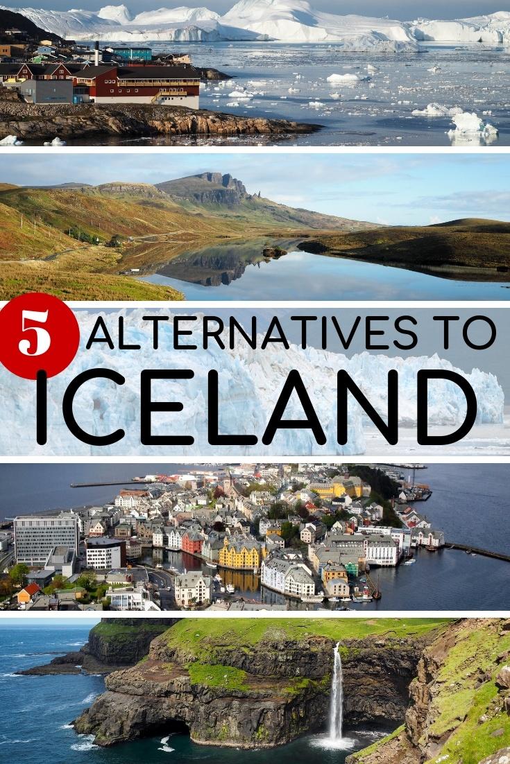 5 Alternatives to Iceland