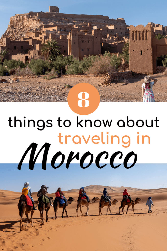 8 things to know about traveling in Morocco