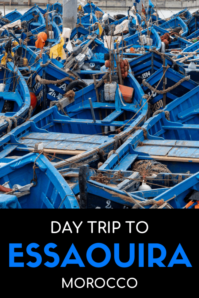 Taking a day trip to Essaouira, Morocco