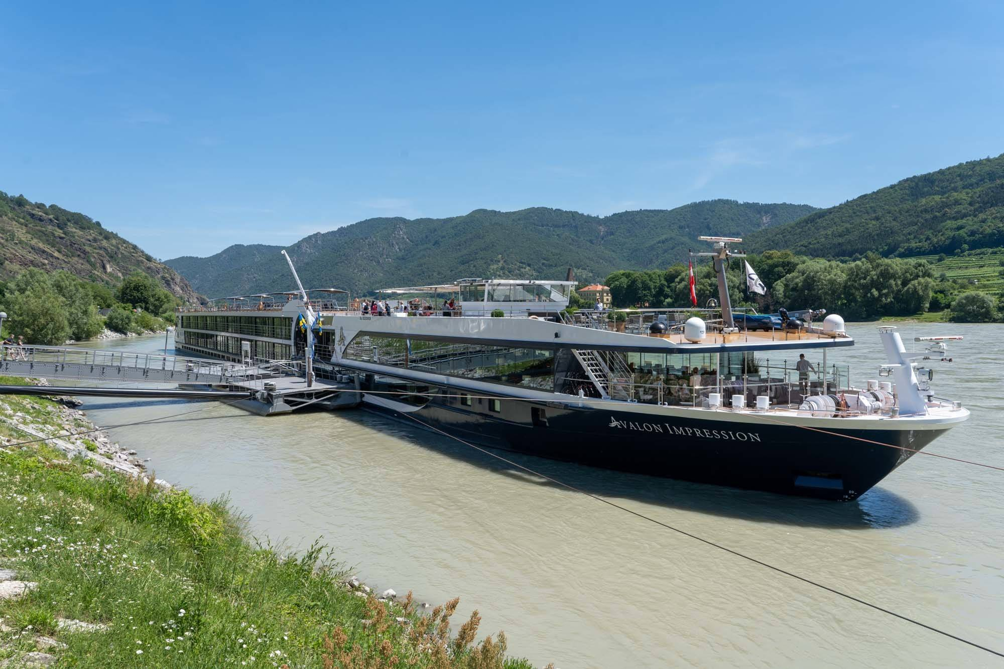 Avalon Impression ship on the Danube River