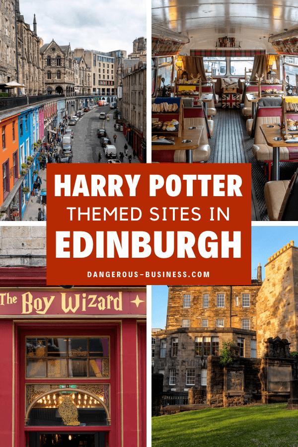 Harry Potter sites in Edinburgh, Scotland