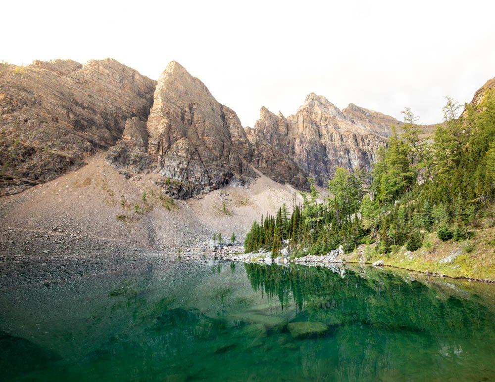 Lake Agnes Tea House hike in Banff National Park