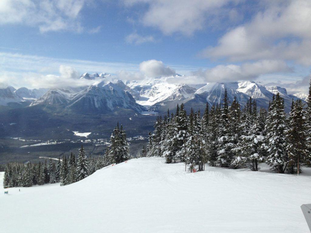 Skiing the Big3 in Banff