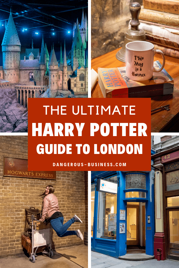 Harry Potter guide to London