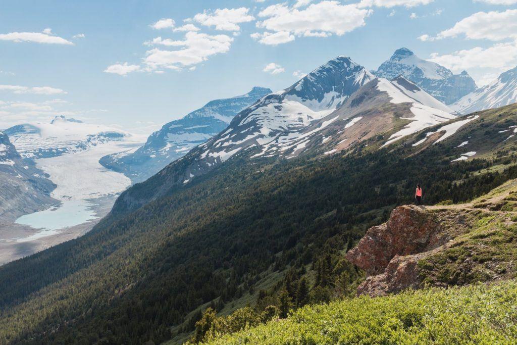 Parker Ridge hike in Alberta