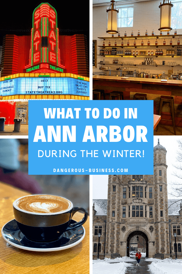 Things to do in Ann Arbor, Michigan in winter