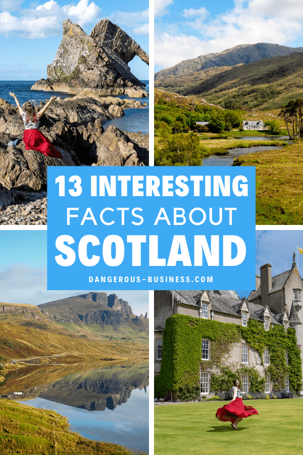 Fun facts about Scotland