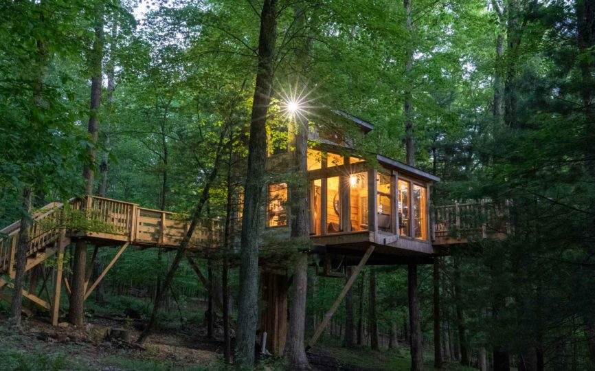 Escaping to a Secluded Treehouse: The Perfect Socially Distanced Getaway