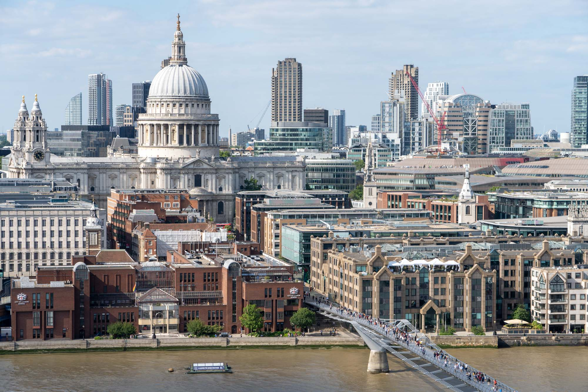 St. Paul's Cathedral skyline view
