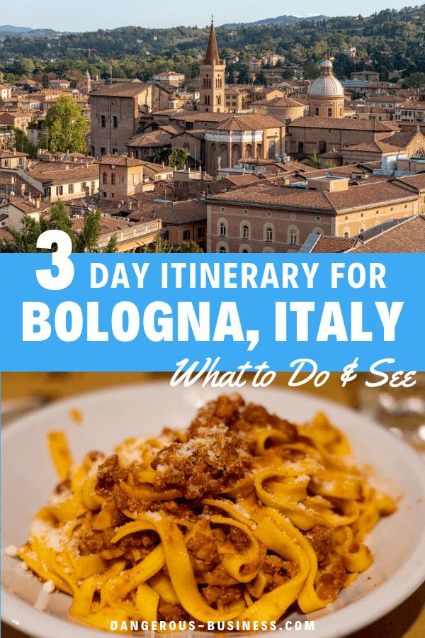 3 day Bologna itinerary
