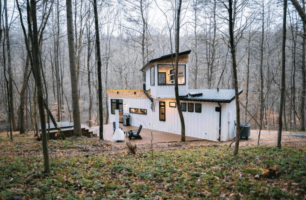 Boho Box Hop cabin