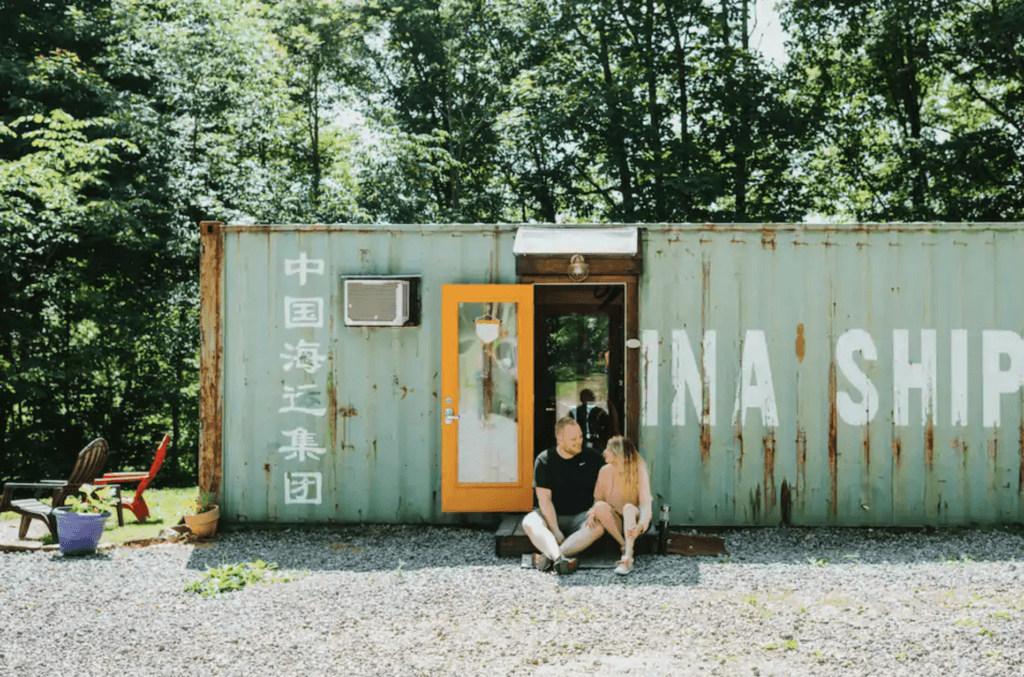 Dover shipping container tiny house