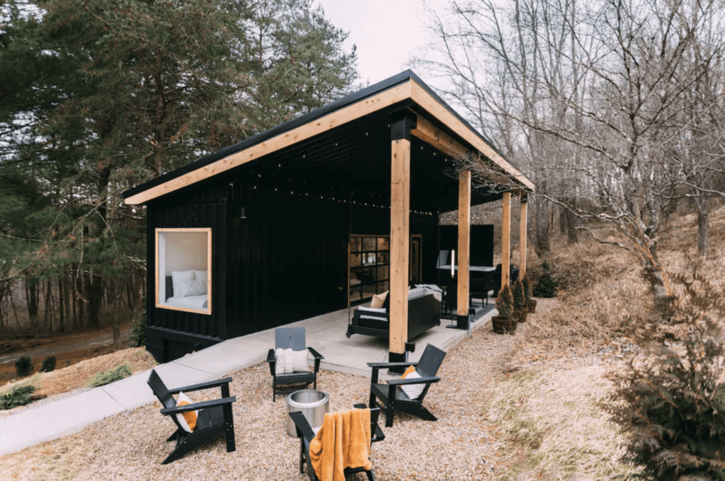 The Lily Pad tiny home