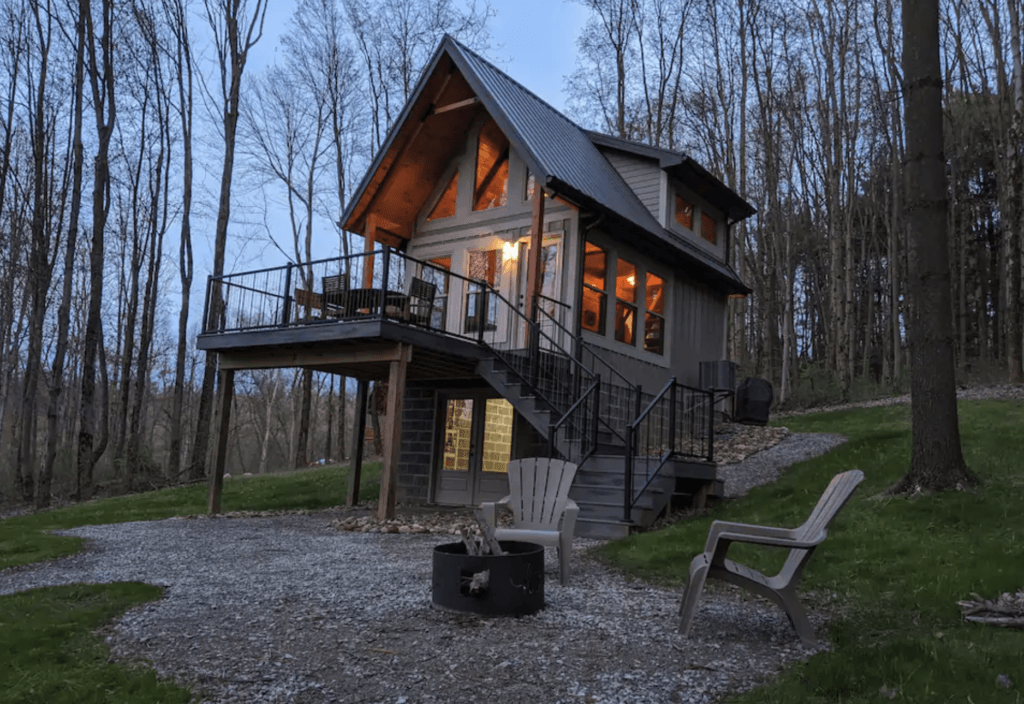 Unplugged Mohican cabin