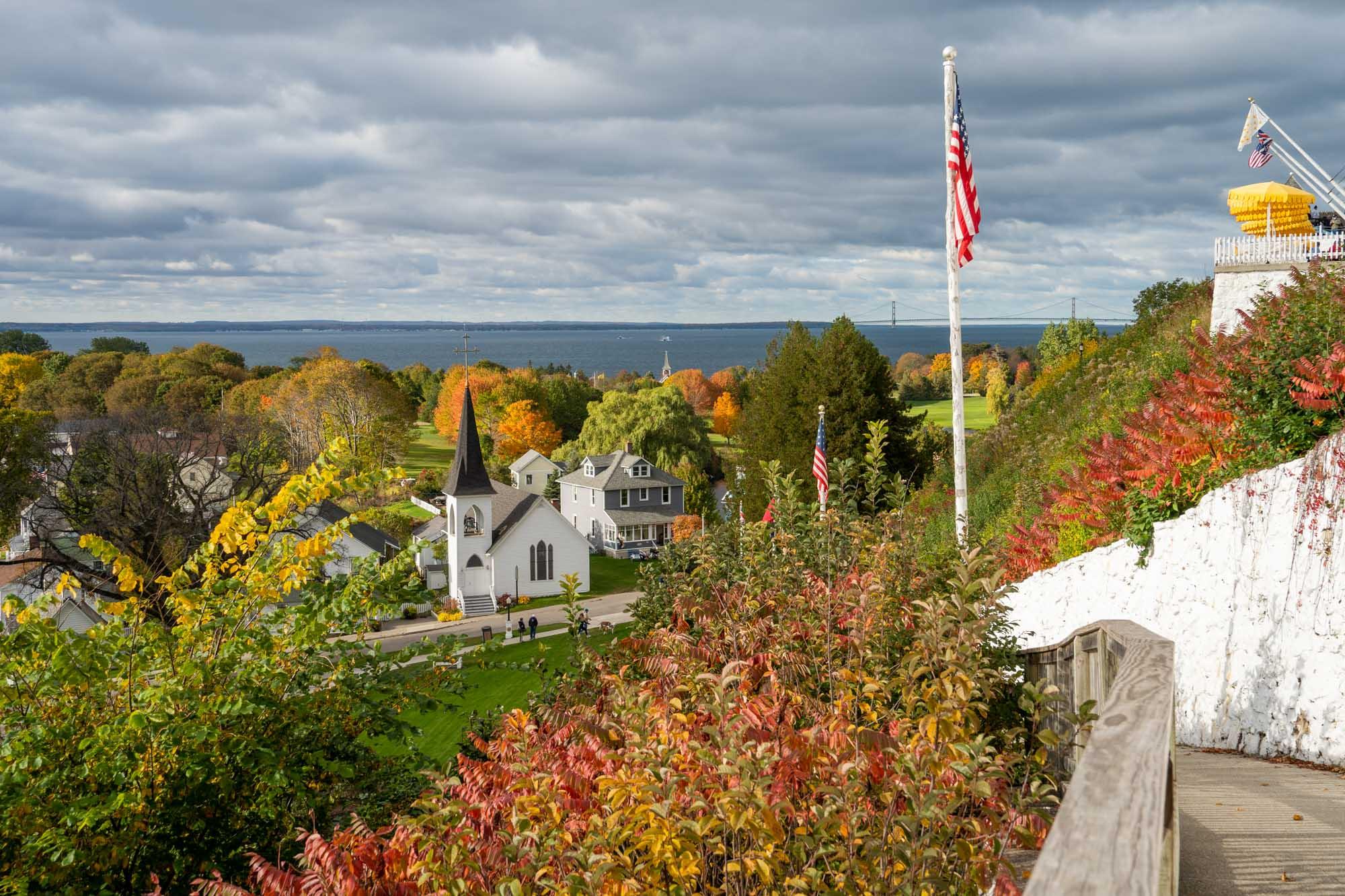 Fort Mackinac view