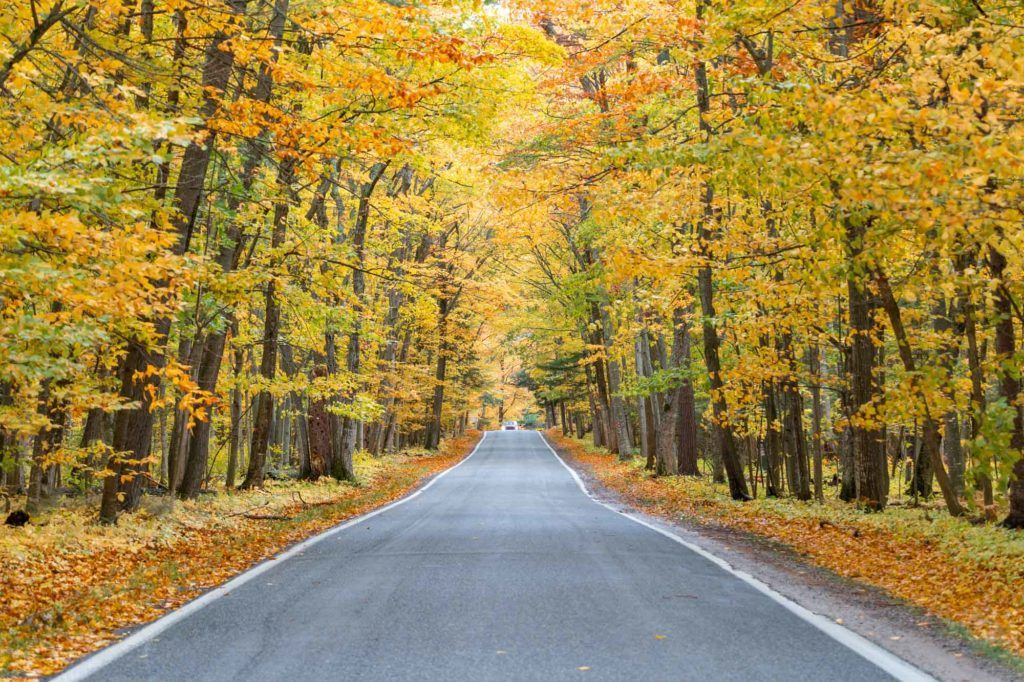 Michigan fall road trip itinerary
