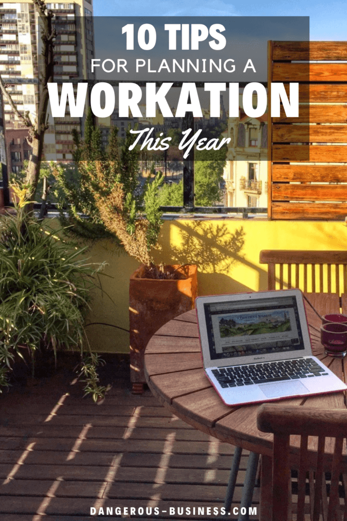 How to plan a workation