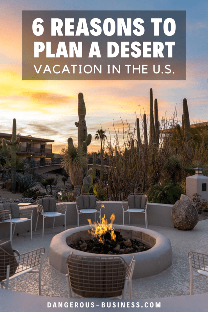 Reasons to plan a desert vacation in the US