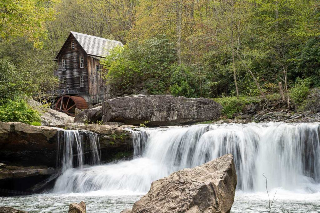 Glade Creek Grist Mill in Babcock State Park