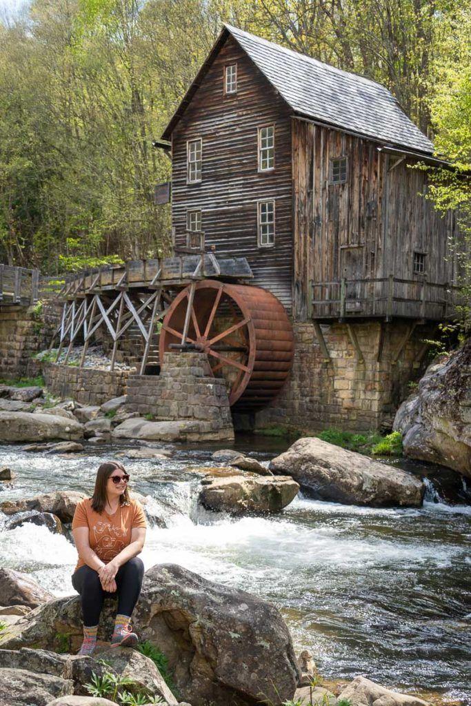 Amanda at Glade Creek Grist Mill