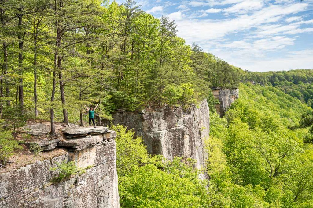 Endless Wall Trail at New River Gorge