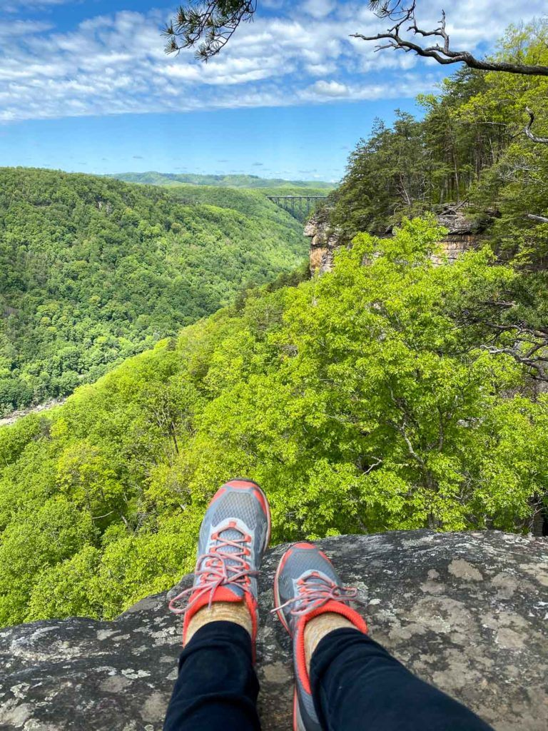 Hiking in the New River Gorge